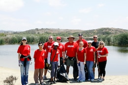 Approximately 50 Keller Williams employees of San Clemente and Escondido North County donated their annual Renew, Energize and Donate day to building picnic tables and painted curbs in Santa Margarita and held a beach clean-up at Red Beach here May 9.