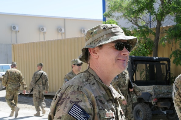 Jeffrey Meyer, 36th Wing historian, is currently deployed to the 455th Air