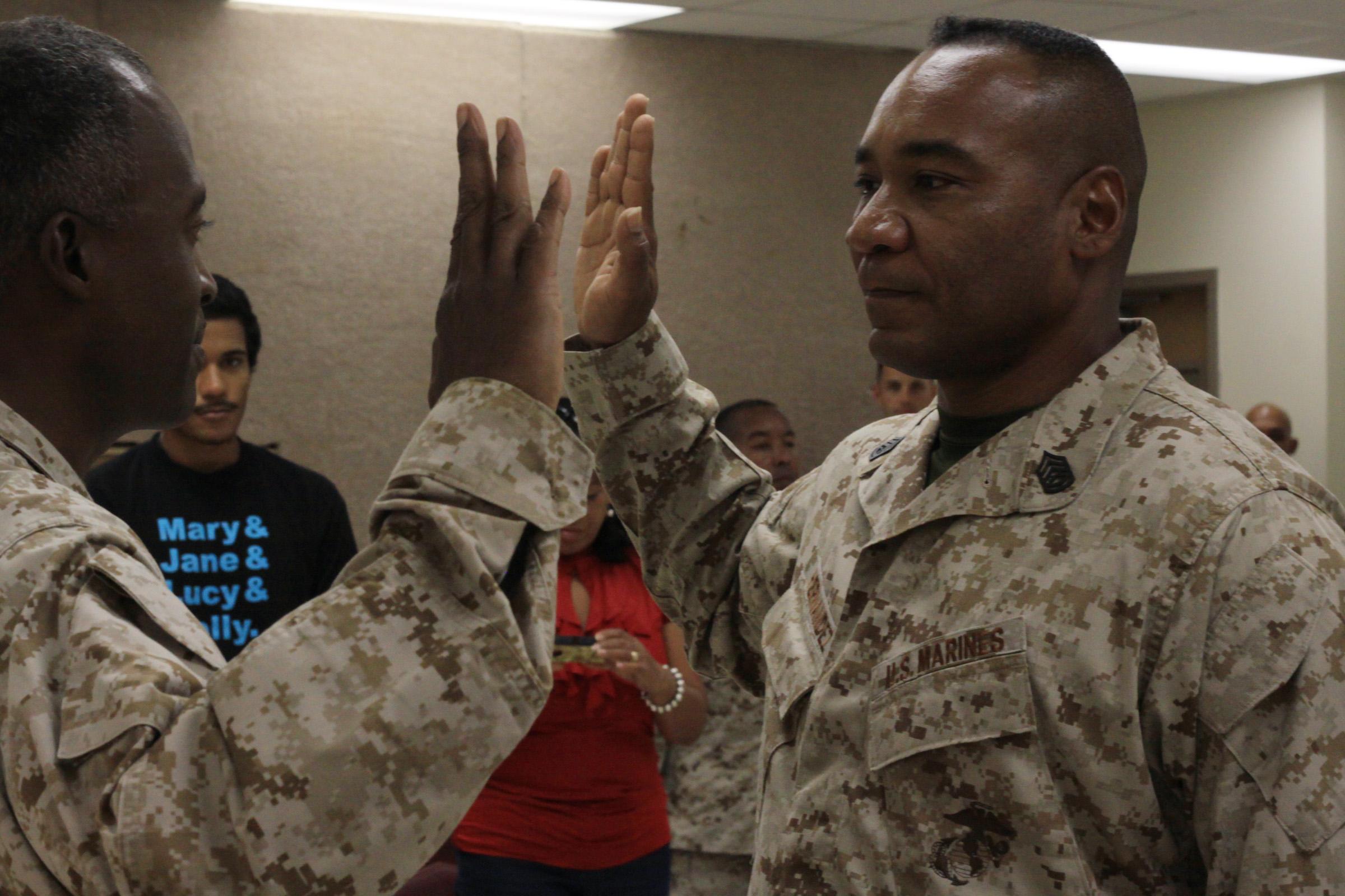 Reserve officer marine enlisted dating