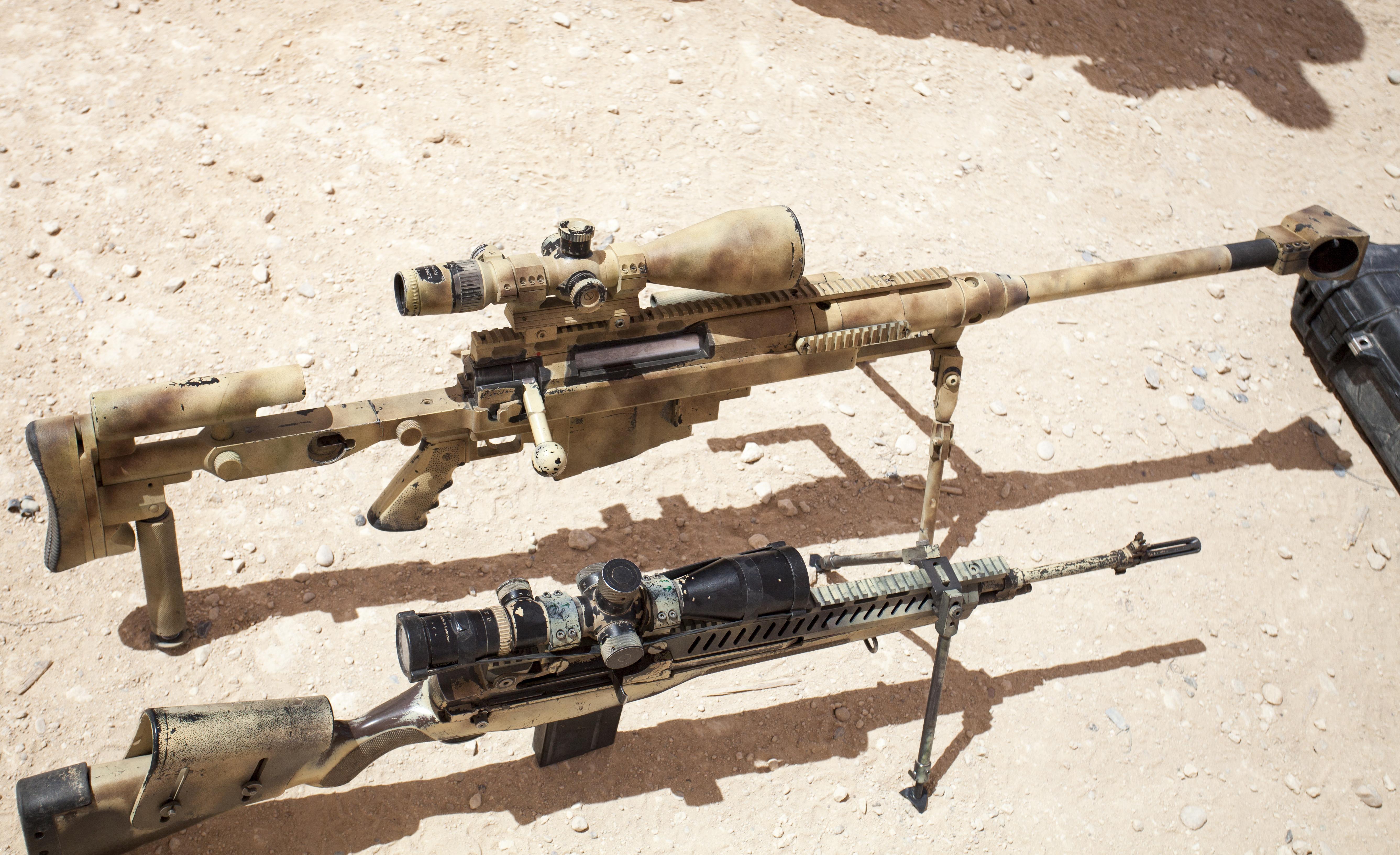 Photos M14 Sniper Rifle Usmc