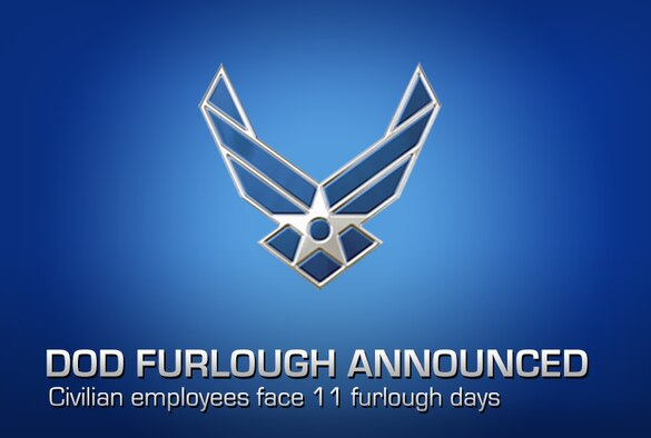 Defense Secretary Chuck Hagel announced May 14, 2013, that he has signed a memorandum directing defense managers to prepare to furlough most Defense Department civilian employees for up to 11 days between July 8 and the Sept. 30, the end of the fiscal year. (U.S. Air Force graphic/Robin Meredith)