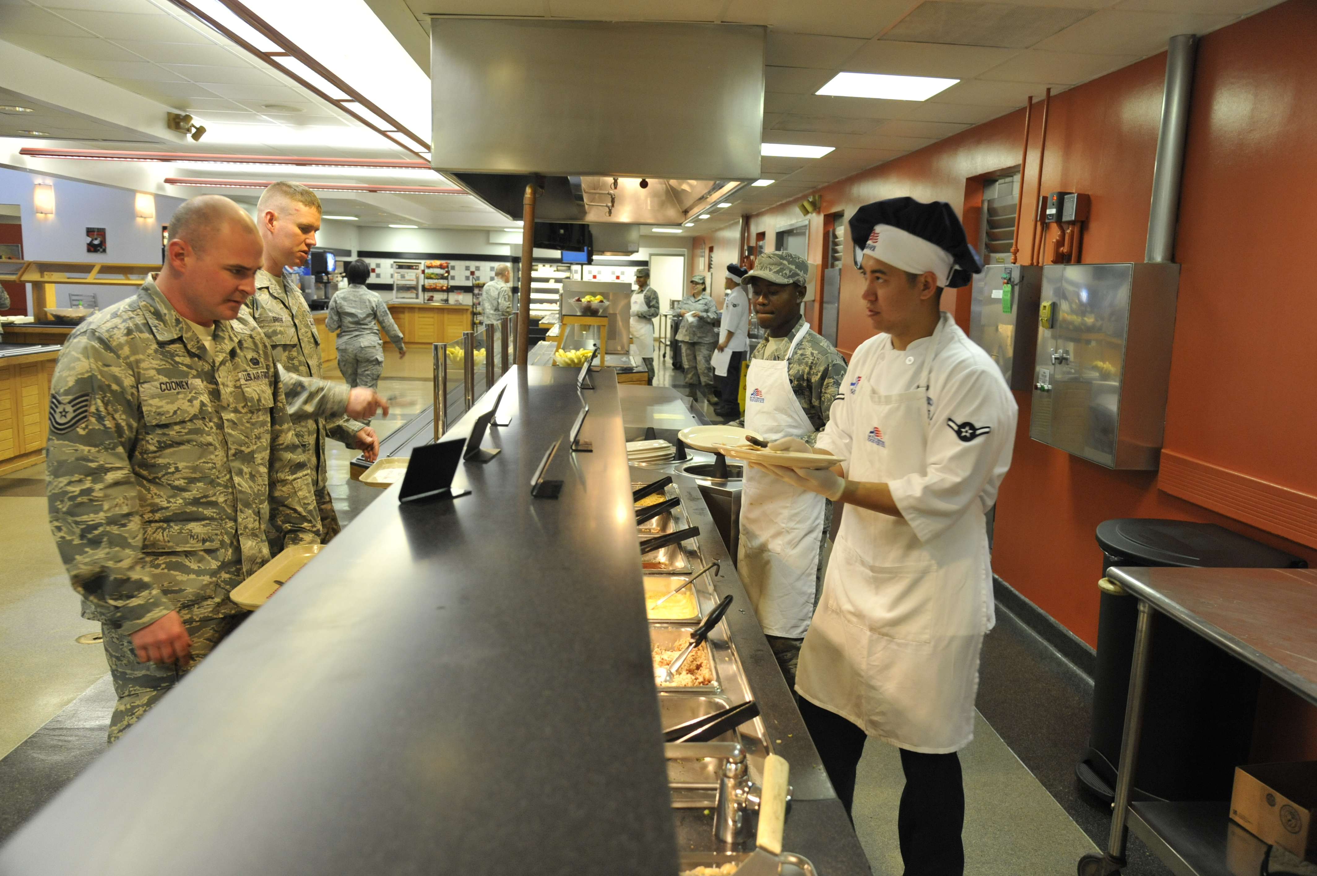 Roasting The Competition Whiteman Dining Facilities Named