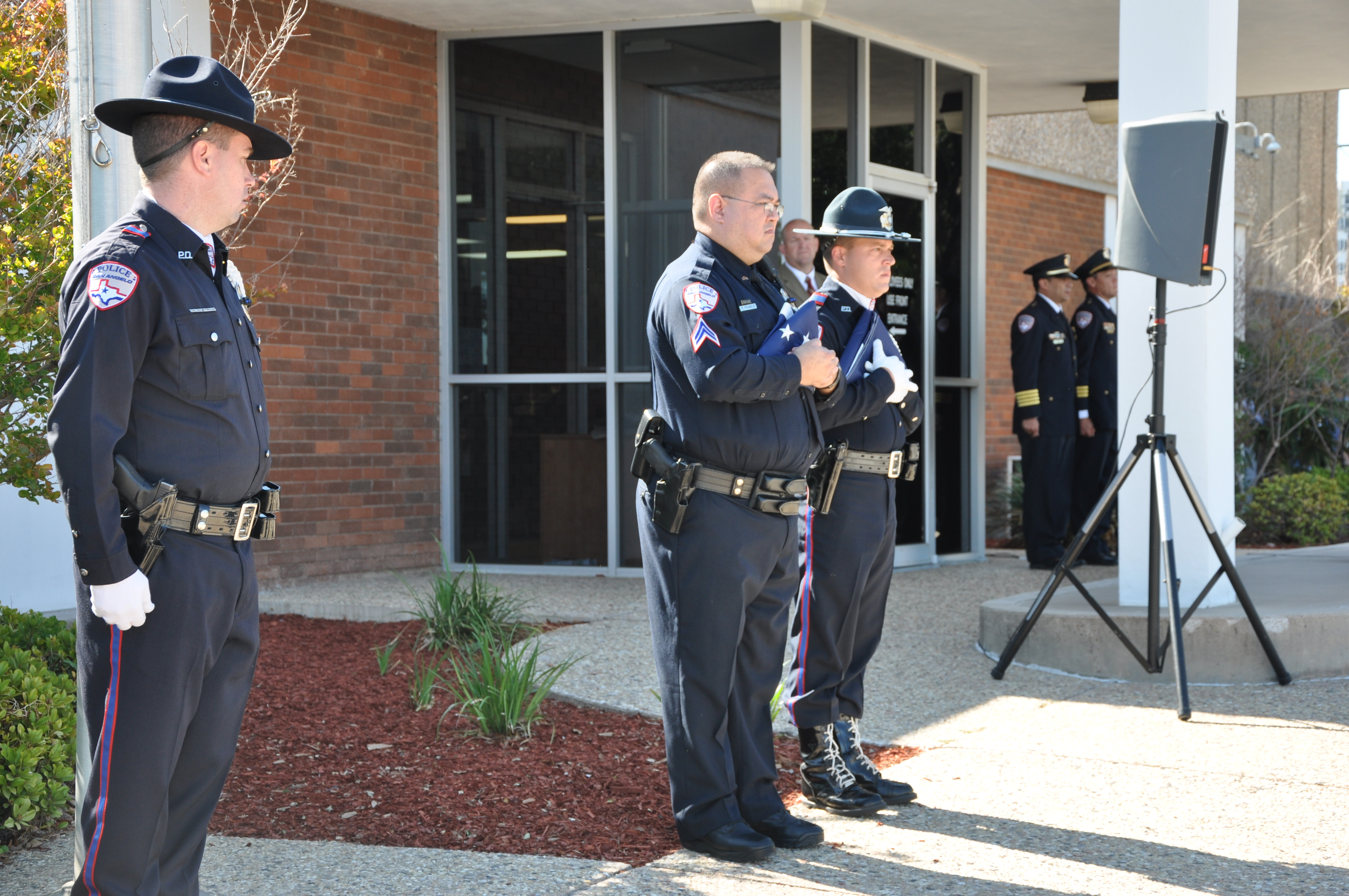 SAPD holds flag raising ceremony for National Police Week