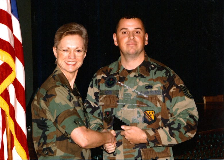 Todd Kern served as a technical training school instructor at Sheppard Air Force Base, Texas, from 1998 to 2002. (Courtesy photo)