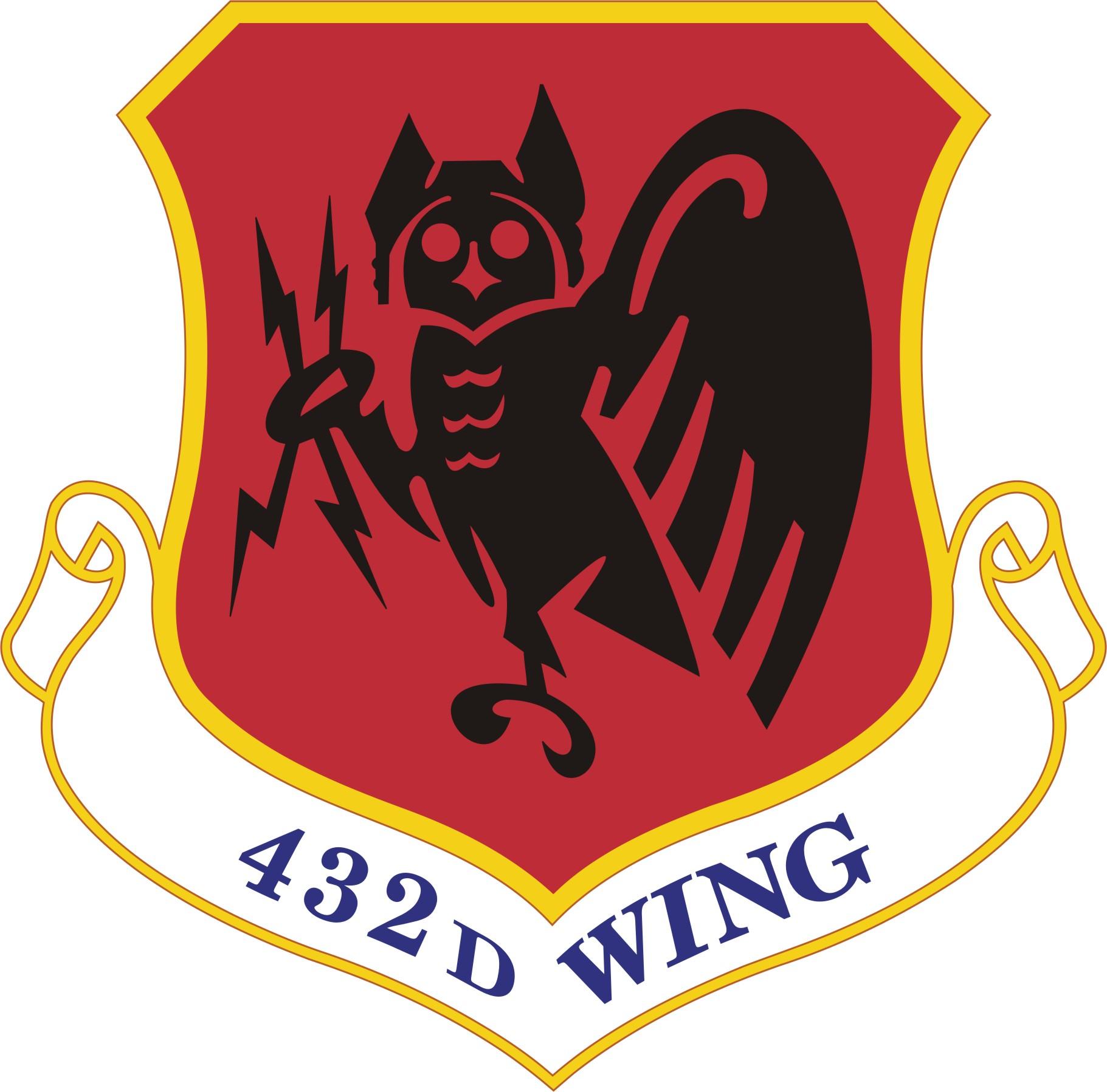 432nd Wing shield