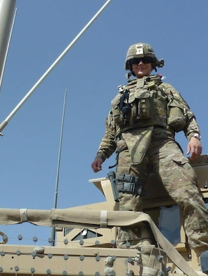 Staff Sgt. Sarah Woods, 6th Medical Operations Squadron medic, deployed to Afghanistan in 2012. (courtesy photo/released)