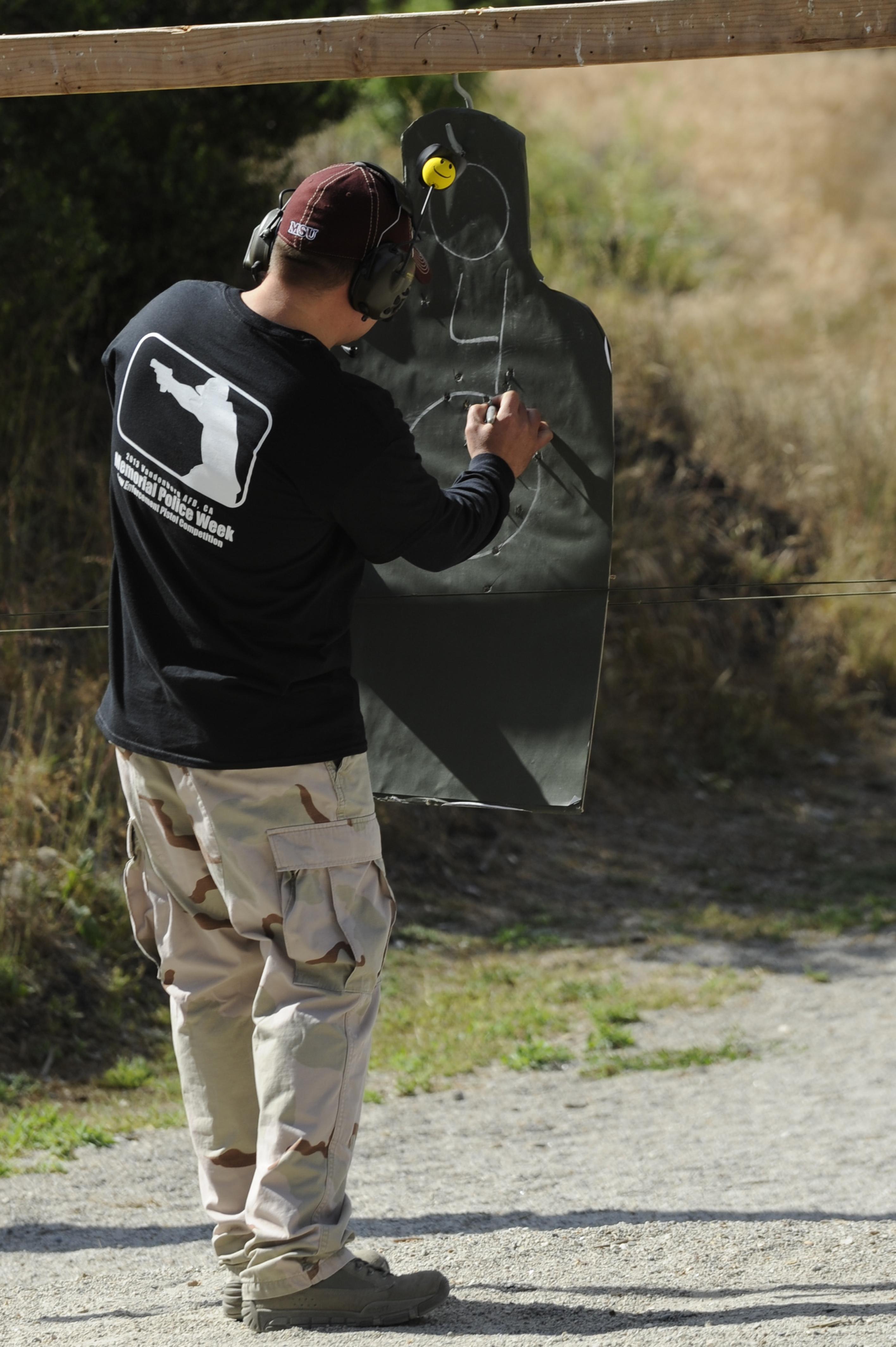 30 SFS hosts a Law Enforcement Pistol Shoot competition