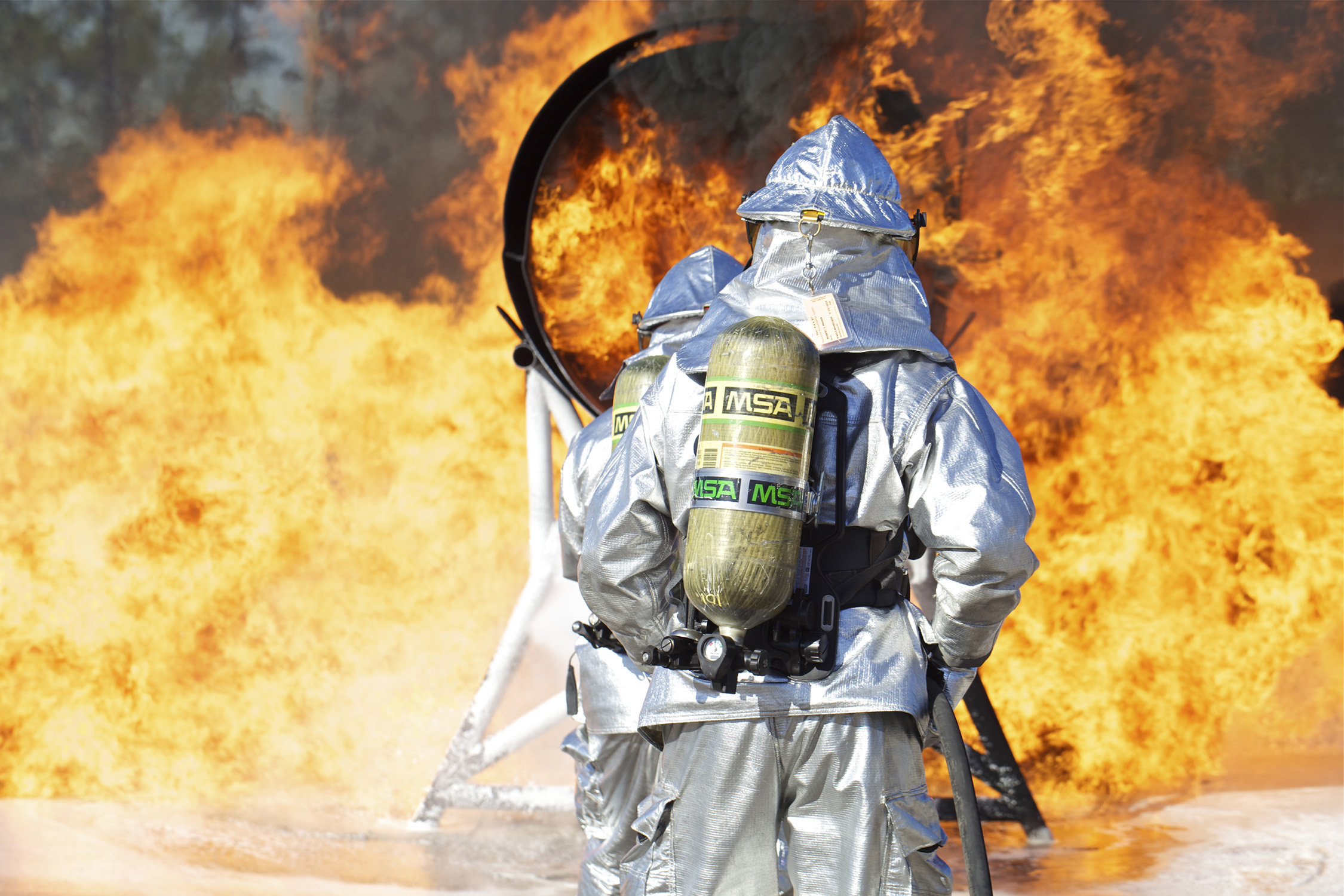 Dod Firefighter Certification Program Turns 20 Us Air Force