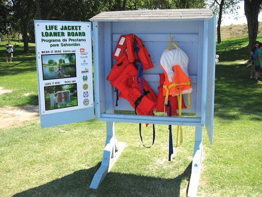 Life Jacket Loaner Stations Can Save Lives If Used