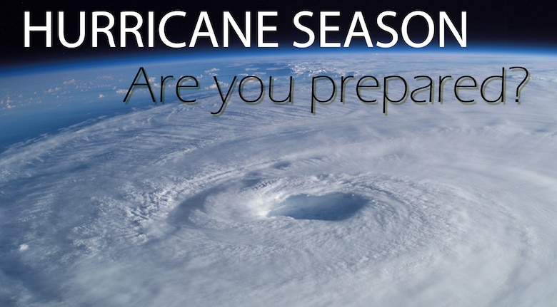 June 1 marks the beginning of the 2013 hurricane season in the U.S., kicking off six months of the threat of tropical weather affecting the Hampton Roads area. Throughout this year's hurricane season, it is imperative for members of the JBLE community to be prepared in case of severe weather. Whether riding out the storm at home or evacuating to safe haven, knowing information ahead of time can help prepare the community for the worst. (U.S. Air Force graphic by Staff Sgt. Katie Gar Ward/Courtesy photo/Released)