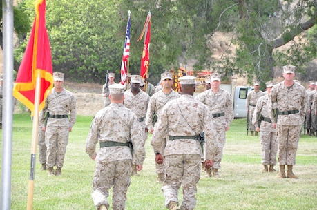 9th Communication Battalion Change of Command Ceremony