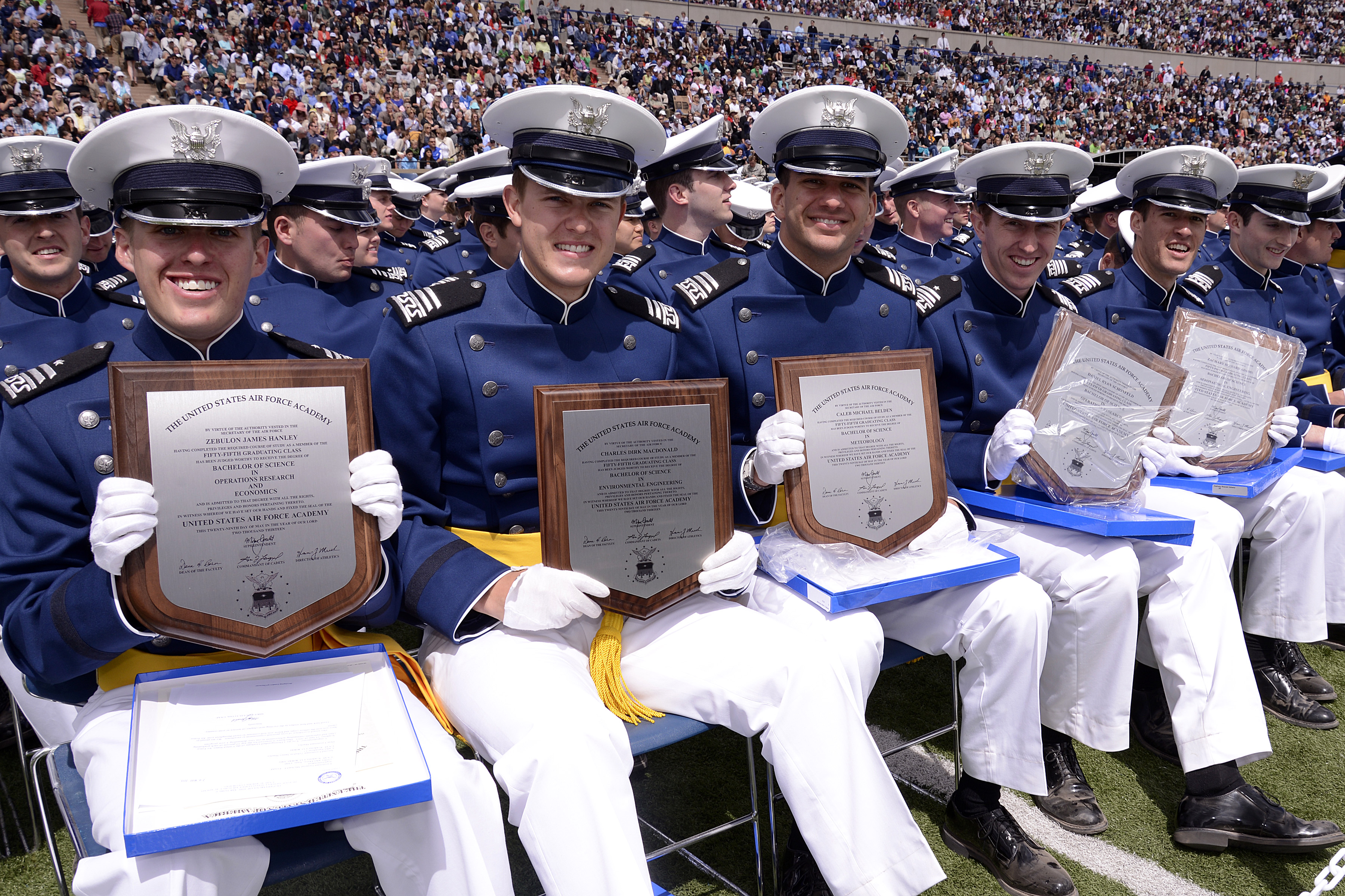 Air Force Graduation >> Usafa Class Of 2013 Graduation