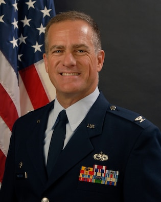U.S. Air Force Col. Michael Metzler, the 169th Maintenance Group Commander at McEntire Joint National Guard Base, South Carolina Air National Guard, poses for his portrait July 14, 2011.  (U.S. Air National Guard photo by Tech. Sgt. Caycee Watson/Released)
