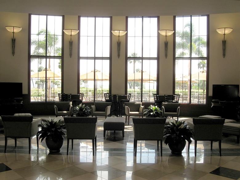 Davis Conference Center foyer