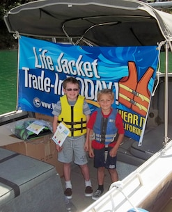 Life Jacket Trade-in Day