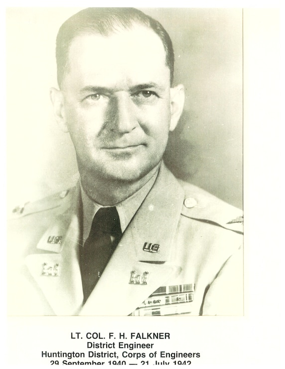 LT COL F. H. Falkner