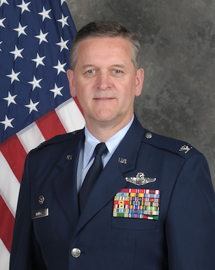 Col. Russell A. Muncy, 507th Air Refueling Wing Commander