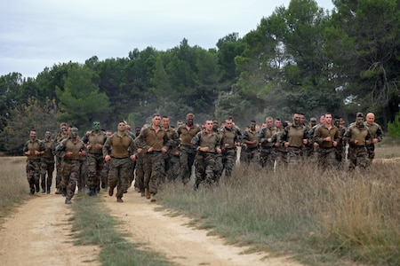 2e REI and US Marines Urban warfare exercise