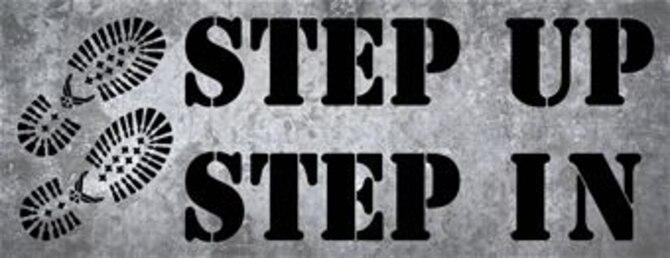 Step Up, Step In logo