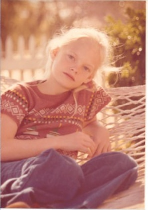 Mitty Mirrer as a child.