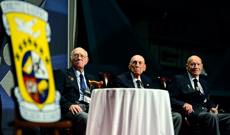 The Doolittle Tokyo Raiders shared their last and final toast at the National Museum of the U.S. Air Force Nov. 09, 2013 in Dayton, Ohio.