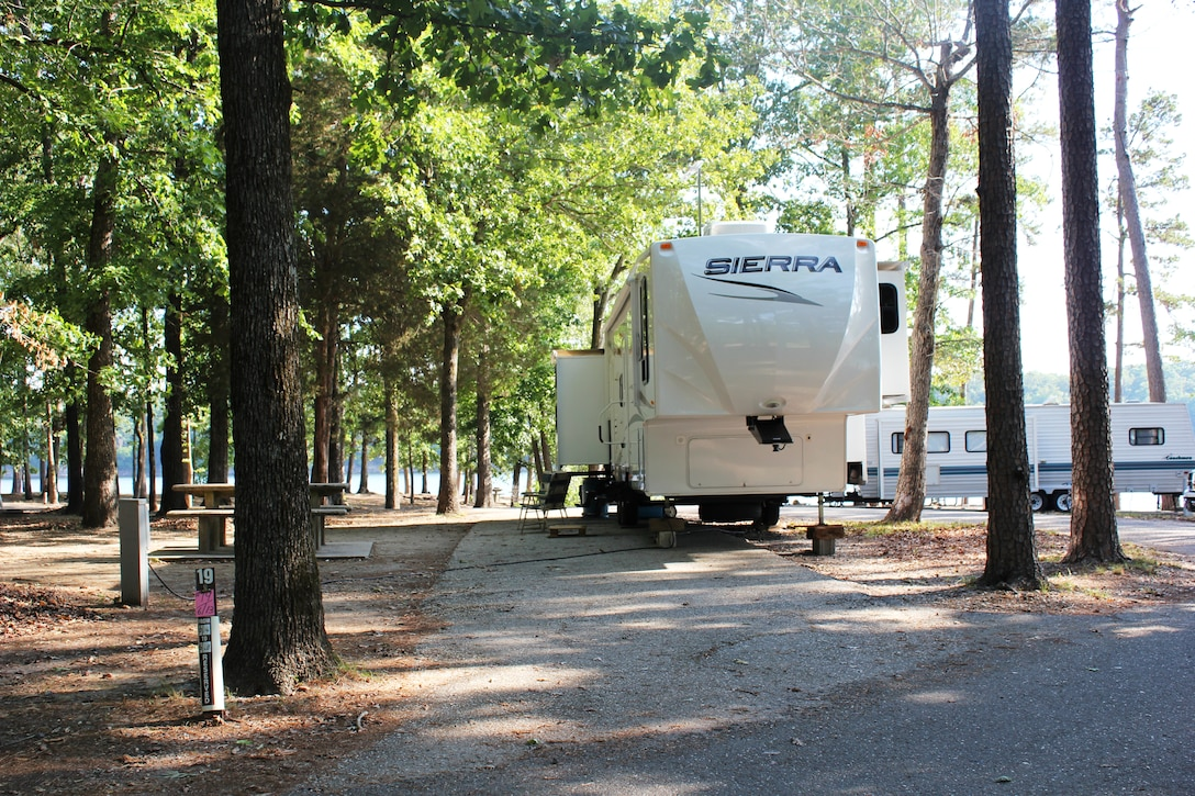 Tompkins Bend Recreation area, Lake Ouachita