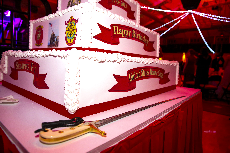 Terrific Division Marines Celebrate 238 Years Of Tradition Personalised Birthday Cards Akebfashionlily Jamesorg