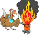 Turkey Fryer Safety (Image by Airman 1st Class Dustin Mullen)