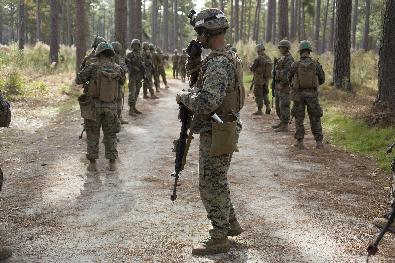 Marine Sergeant David Rogers from Delta Company, Infantry