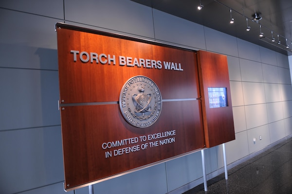 The DIA Torch Bearers Wall