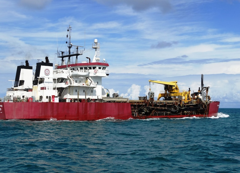 TERRAPIN ISLAND hopper dredge 