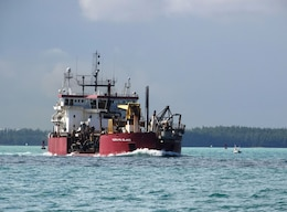 TERRAPIN ISLAND hopper dredge Miami Harbor Deepening Project