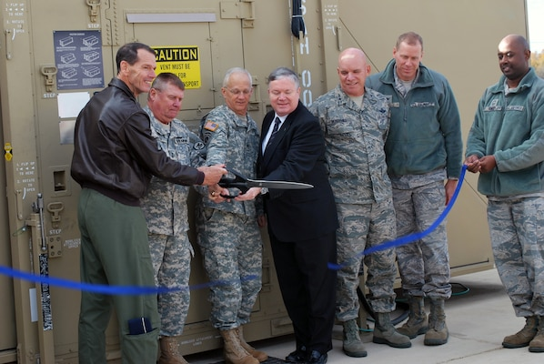 Eagle Vision 6 site is rededicated at Alabama's Redstone