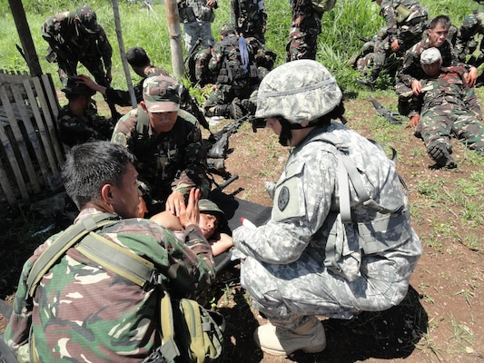 Guam National Guard Members Build On State Partnership With
