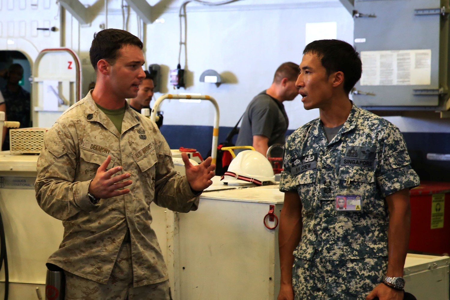 EOD conducts professional exchange with Singapore Navy > 13th ...