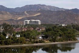A view of the Camp Pendleton Naval Hospital Oct. 7.