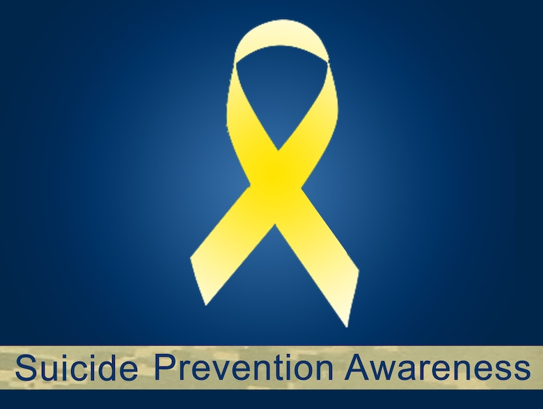 The Department of Defense recognizes Suicide Prevention Awareness Month every September. The Air Force uses