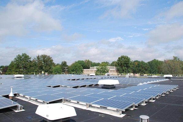 Solar Power Project at the Homeland Security Center of Excellence in Lawrenceville, N.J.