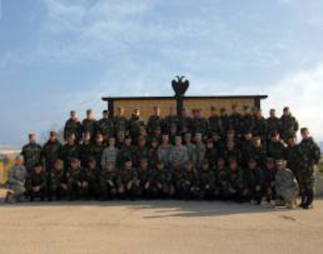 The initial Senior Noncommissioned Officer course for the Kosovo Security Forces was taught by Iowa National Guard members as part of the National Guard State Partnership Program. They are stationed as part of the NATO-led Kosovo Forces 14 rotation, and KSF personnel. The Iowa National Guard assumed State Partnership status with Kosovo March 2011.