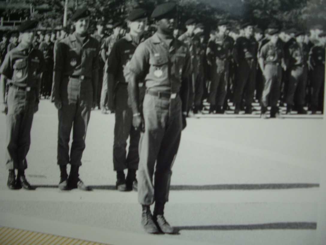 Gen. Edward A. Rice Jr. leading formation at the Air Force Academy. The general retired Oct. 10 after more than 35 years of Air Force service and 4,000 flying hours. (Courtesy photo)