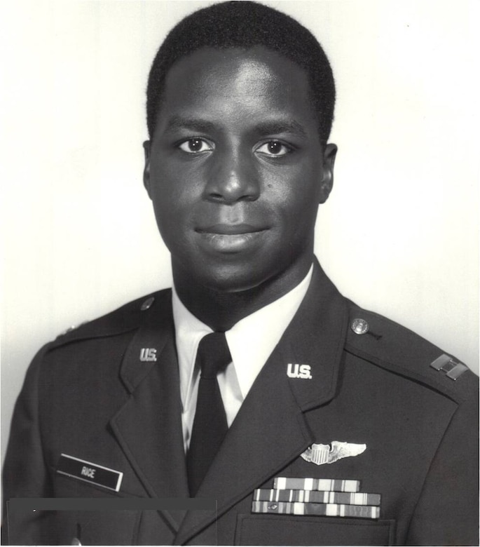 Gen. Edward A. Rice Jr. as a Captain. The general retired Oct. 10 after more than 35