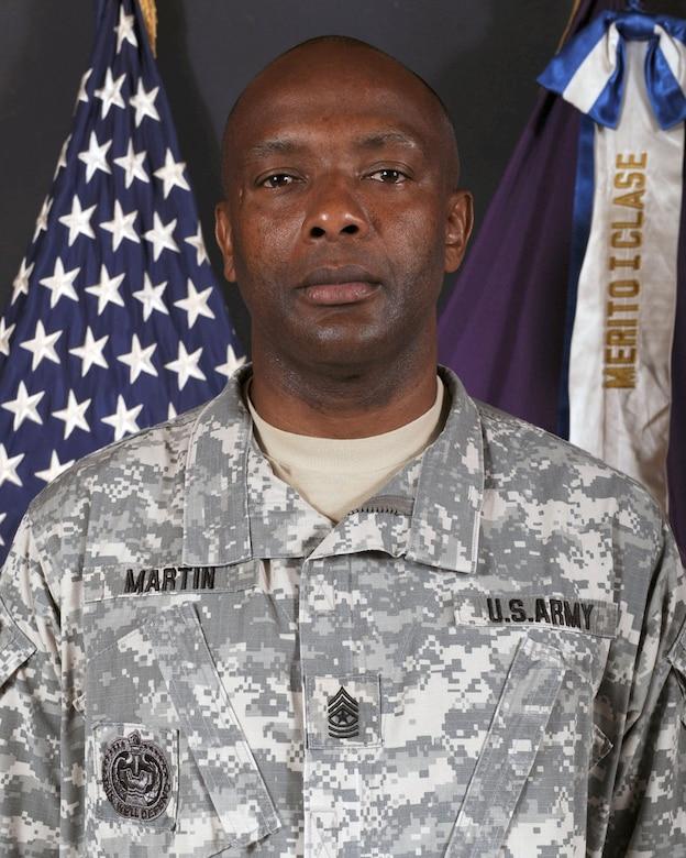 Command Sergeant Major Valmond A. Martin