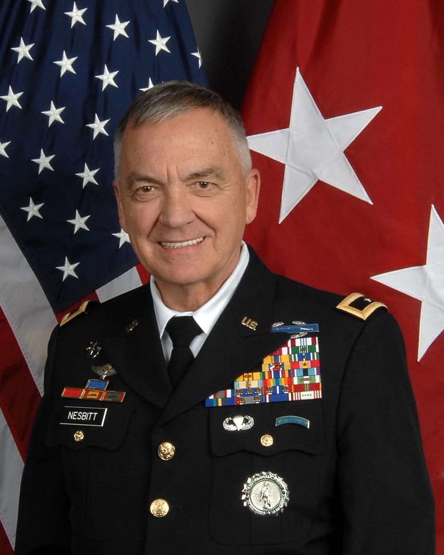 Army Maj. Gen. William Nesbitt