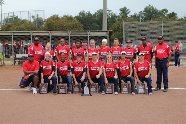 The 2013 Armed Forces Womens Softball Team took silver at ASA National Softball Championship in Ridgeland, MS 26-30 September.