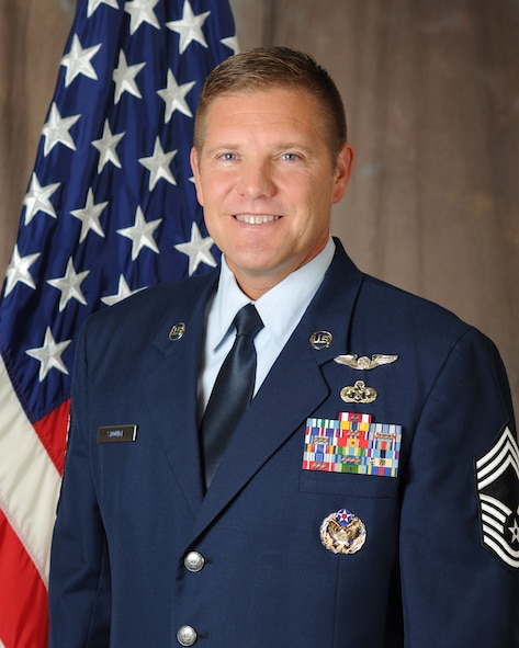 Chief Master Sgt. Thomas K. Stoudt is the 13th Commandant of the Paul H. Lankford Enlisted PME Center. (U.S. Air National Guard photo by Master Sgt. Kurt Skoglund/Released)
