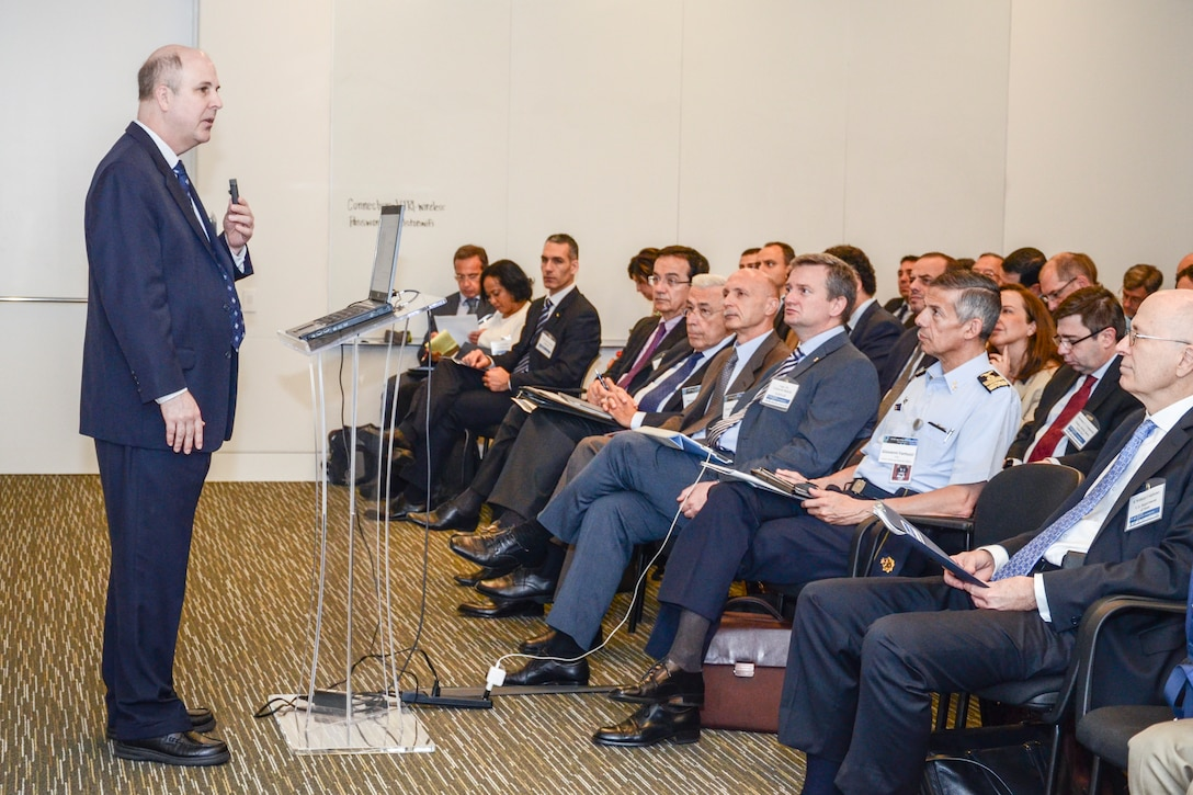 Opening remarks at the Air Force Office of Scientific Research (AFOSR) and the Embassy of Italy technical exchange meeting in held in Arlington, Va.