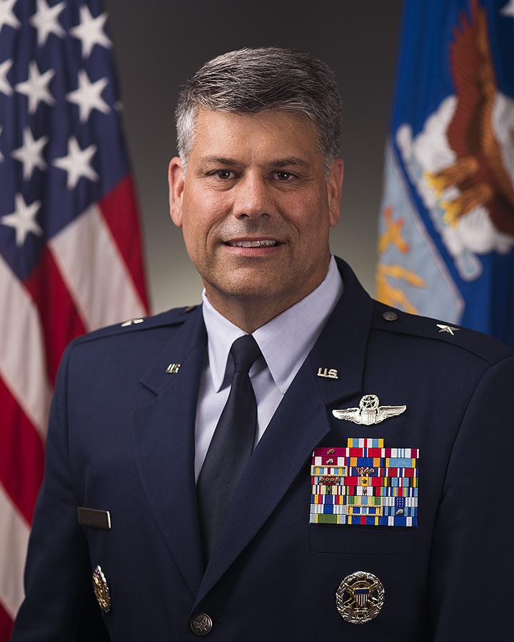 brigadier general gregory s otey u s air force biography display