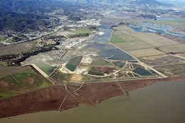 The U.S. Army Corps of Engineers San Francisco District, along with the California State Coastal Conservancy, its non-federal sponsor, is constructing a 988-acre wetland restoration project in Novato, Calif., at what was once the former Hamilton Army Airfield. The project allows for the beneficial use of 24.4 million cubic yards of dredged material, including 3.5 million cubic yards from the Port of Oakland 50' Deepening Project.