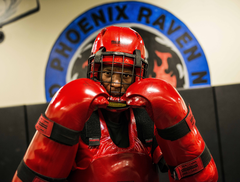 Airmen take on Phoenix Raven challenge