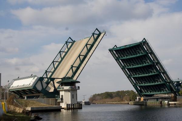 Great Bridge Bridge in Chesapeake is now open.